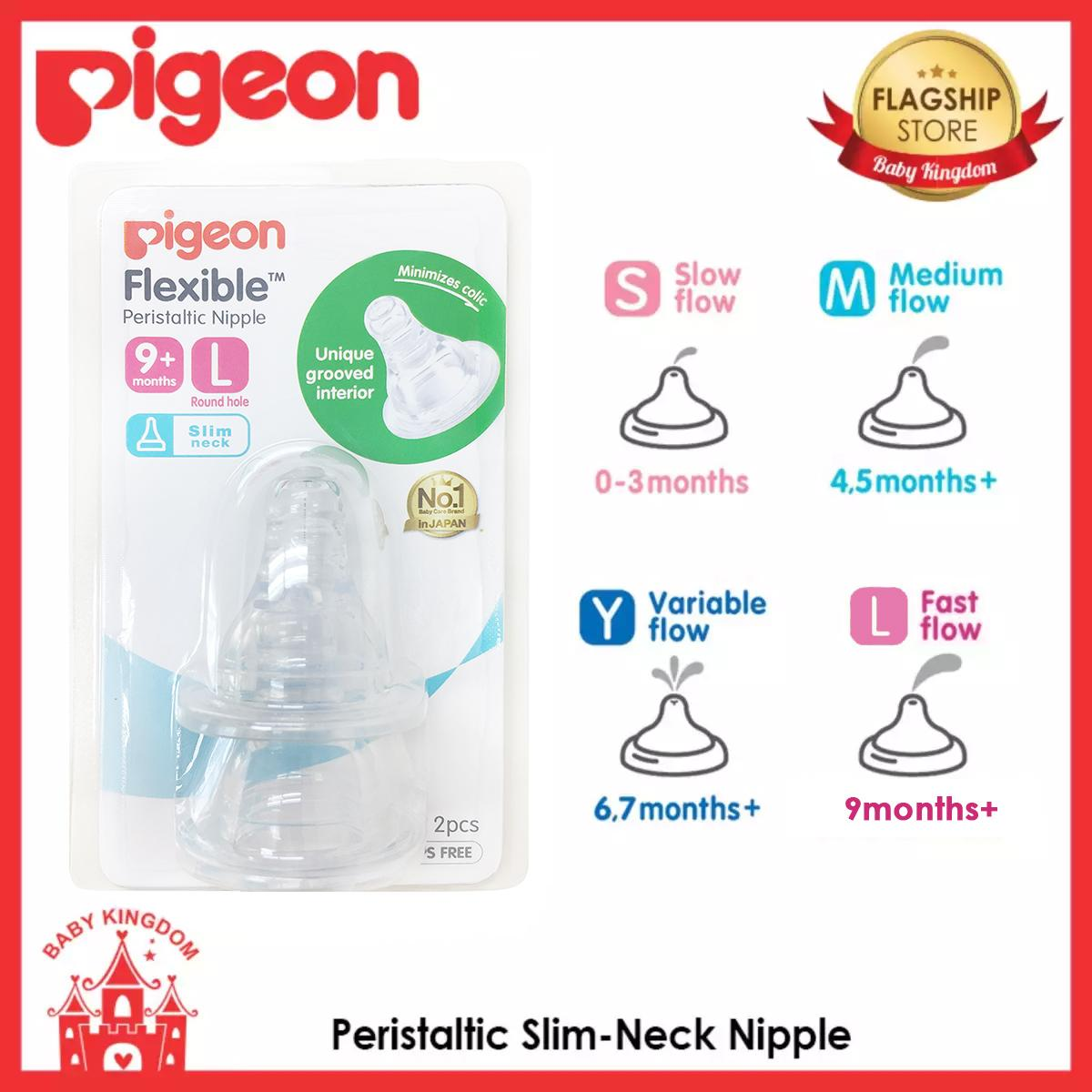 Latest Pigeon Bottle Feeding Products Enjoy Huge Discounts Lazada Sg Silicone Nipple L 2pcs Peristaltic Slim Neck