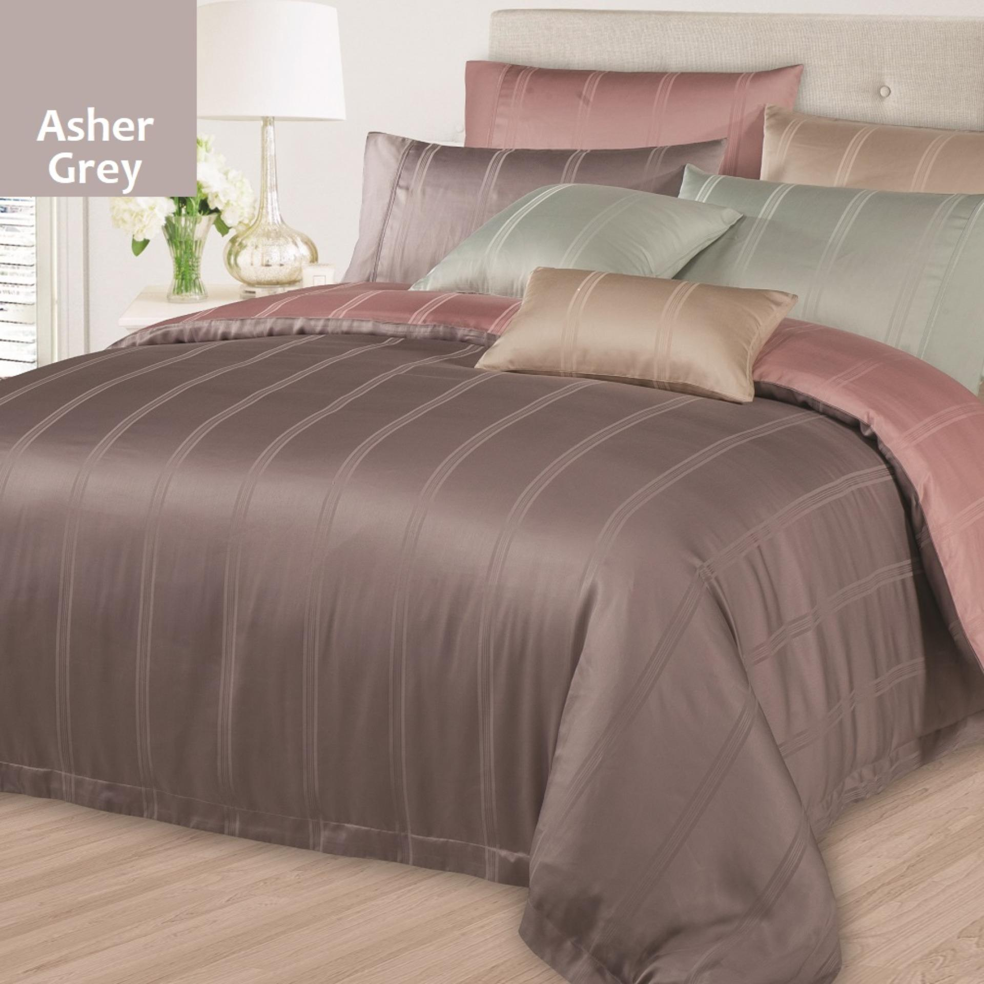 Sale Akemi Modal Unity Anya Stripes Asher Grey Bolster Case Singapore Cheap