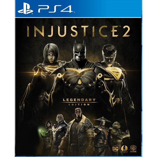 Purchase Ps4 Injustice 2 Legendary Day One Edition As R3