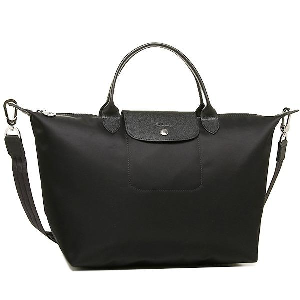 Cheaper Longchamp Neo Medium 1515 Series Black