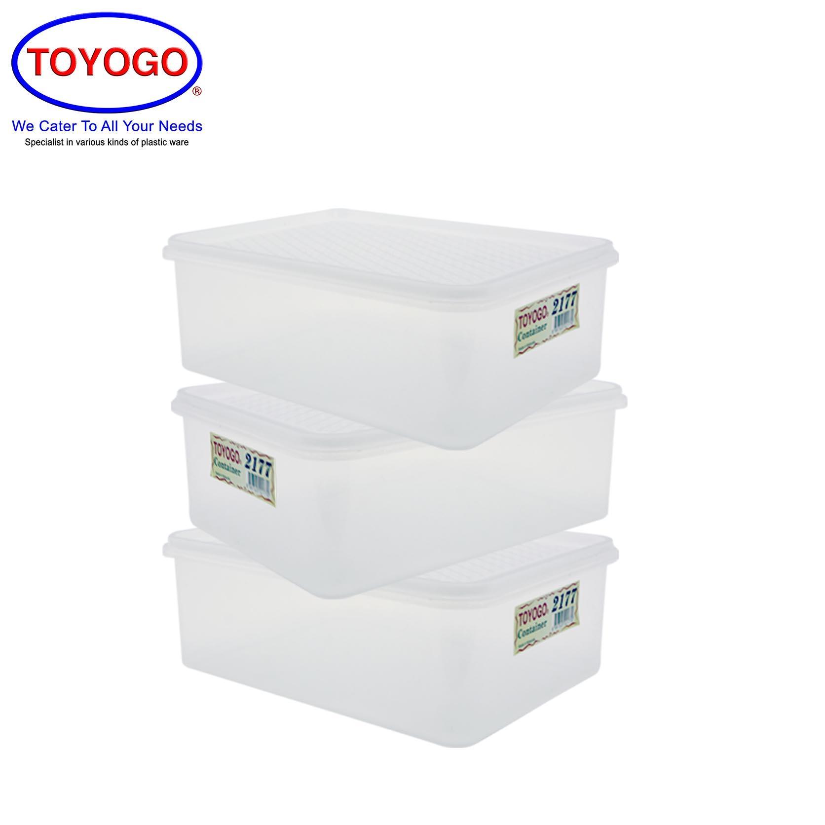 Toyogo Rectangular Box (Bundle of 3) (2177)