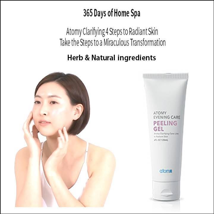Korea Atomy Natural Evening Care Peeling Gel [120ml]: Exfoliates And Prepares Skin For Better Absorption Of Nutrients Foam Cleanser Deep Cleanser Peeling Gel Peeling Mask Atom Skin Care 365 Days Of Home Spa Atomy Clarifying 4 Steps To Radiant Skin By Jolly Sg.