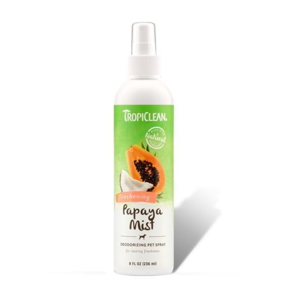Tropiclean Papaya Mist Deodorizing Pet Spray By Singpet.