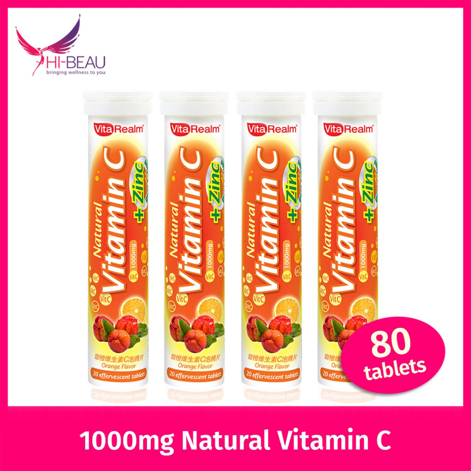 Discount Vitarealm Natural Vitamin C Zinc Lutein Bundle Of 4 Vitarealm Singapore
