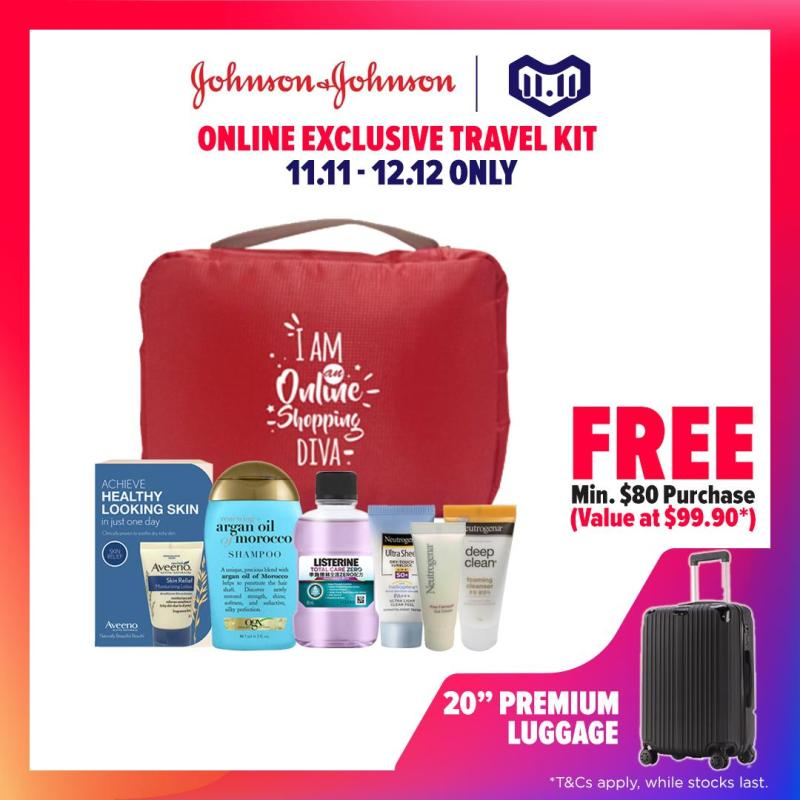 Buy Johnson & Johnson Online Exclusive Travel Kit Singapore