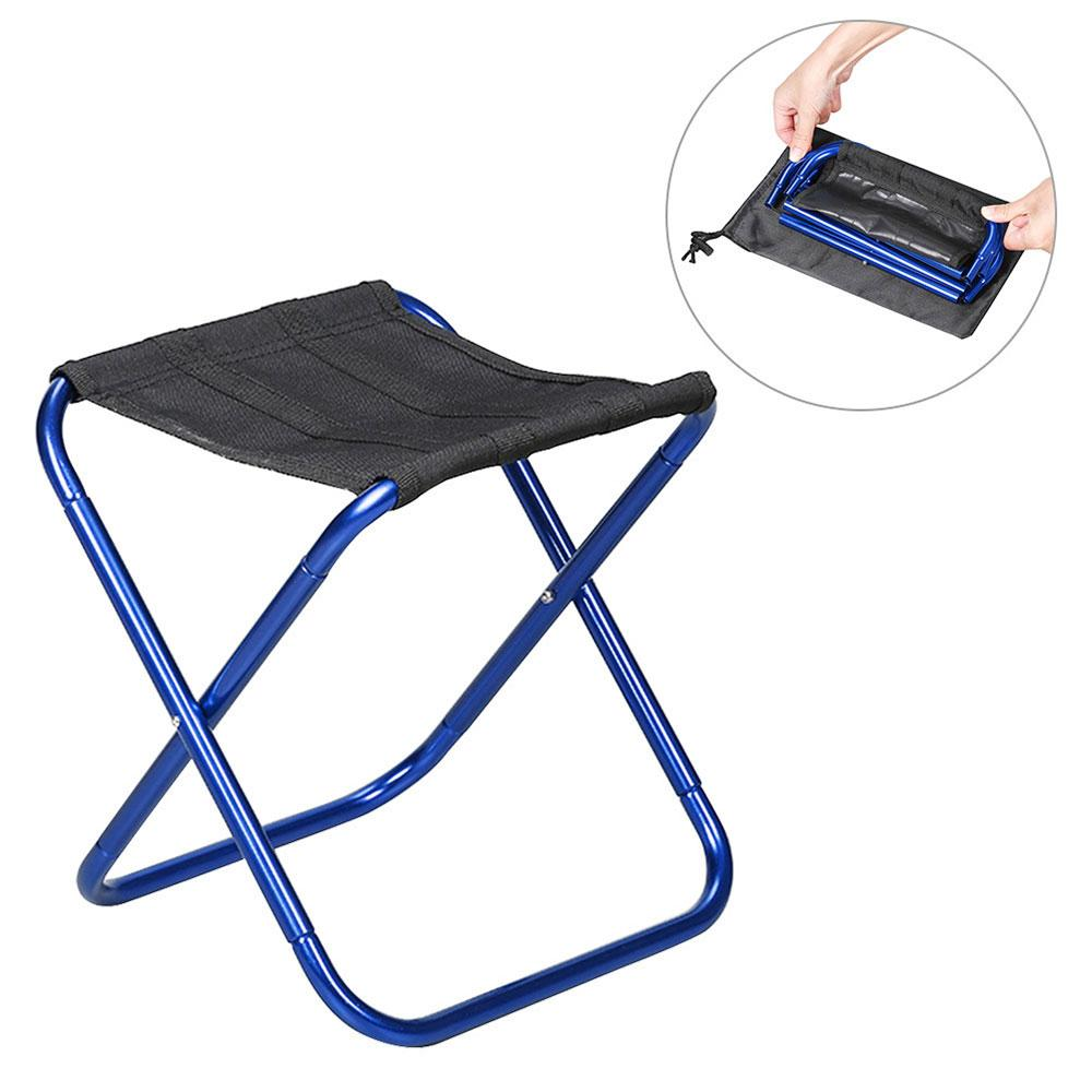 Niceeshop Portable Folding Chair,durable Compact Ultralight Folding Stool Seat With A Carry Bag For Hiker, Camp, Beach, Outdoor ,fishing By Nicee Shop.