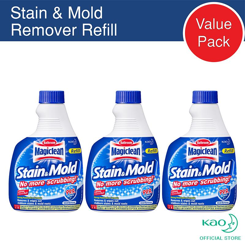 Magiclean Stain & Mold Remover Refill 400ml (set Of 3) By Kao.