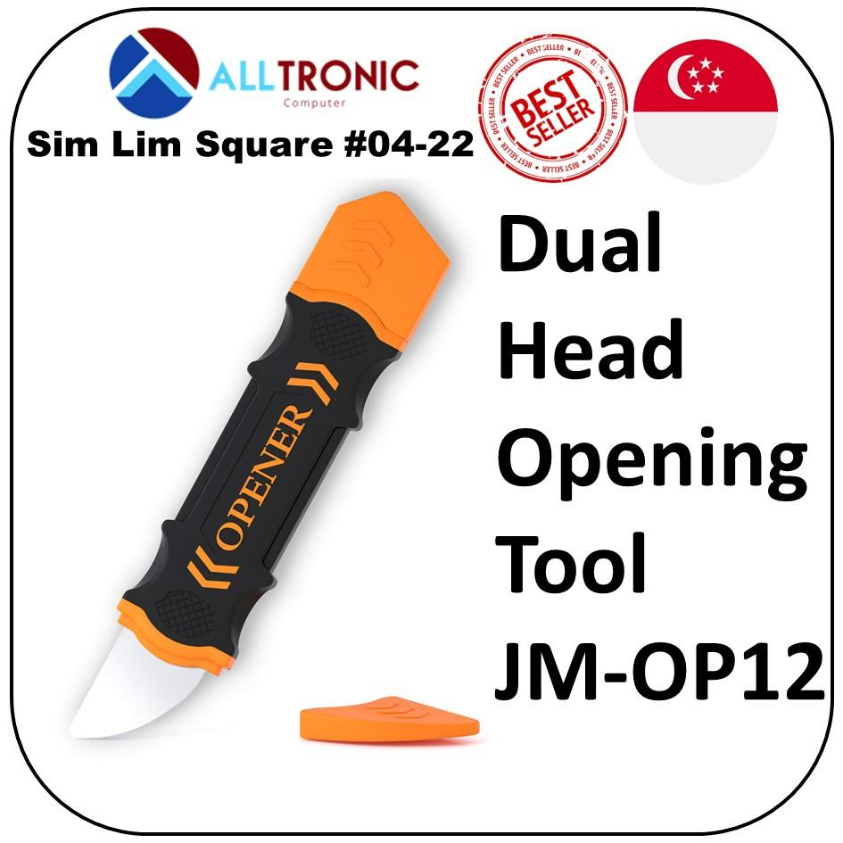 Jakemy JM-OP12 Dual Heads Flexible Opening Tools for Mobile phone, Tablets, Laptop and more
