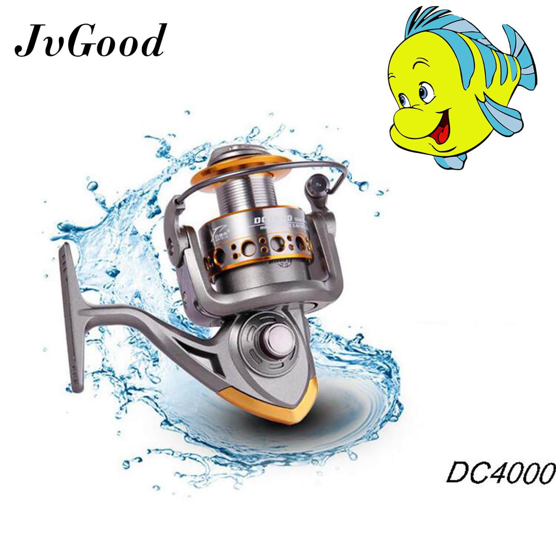 Jvgood Fishing Reels 13bb Mental Spinning Reels 5.2:1 Ratio For River Lake Sea Fishing By Jvgood.