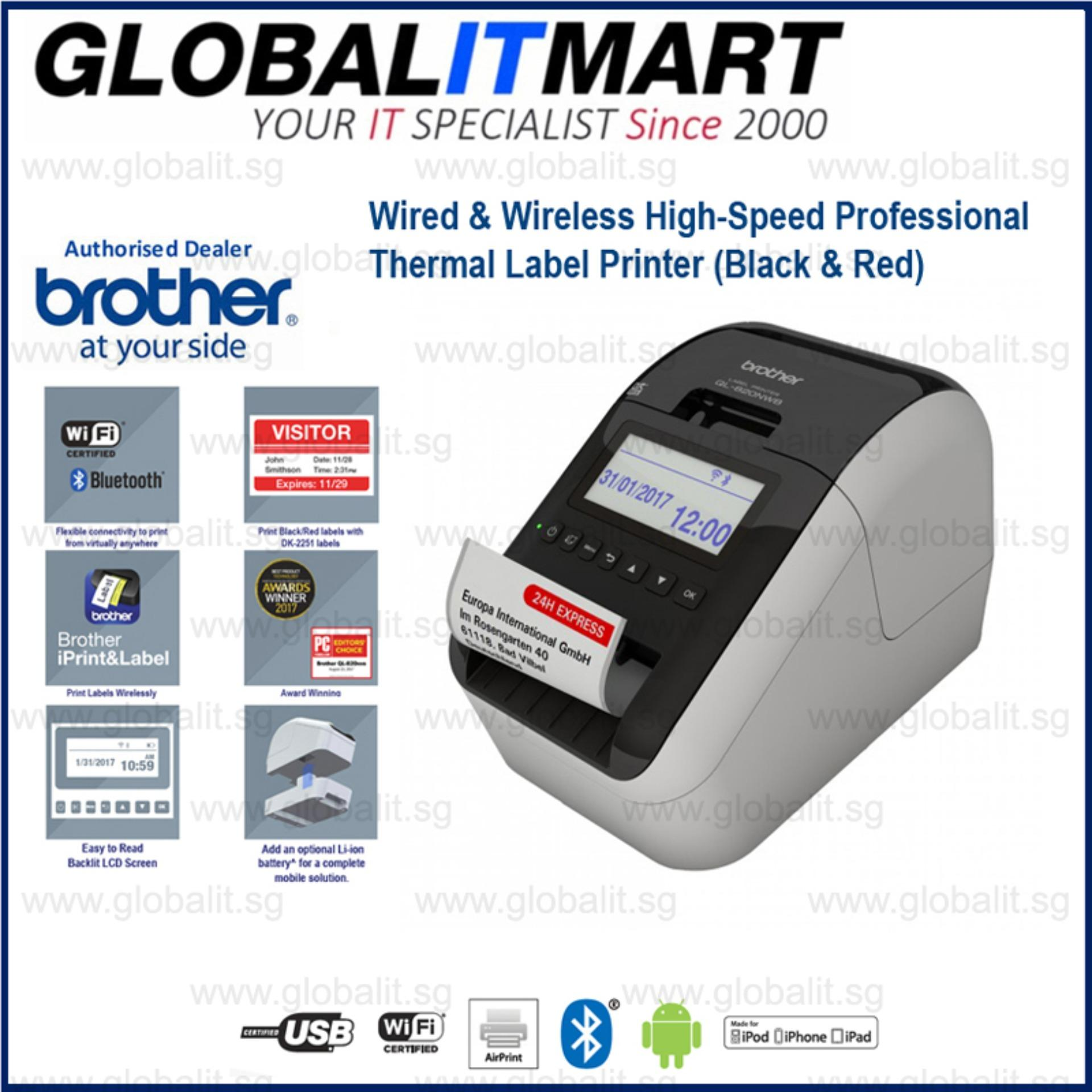 Brother Ql 820Nwb Professional Wireless Label Printer Price