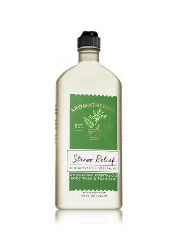 Buy Bath & Body Works Aromatherapy STRESS RELIEF - EUCALYPTUS & SPEARMINT Body Wash & Foam Bath Singapore