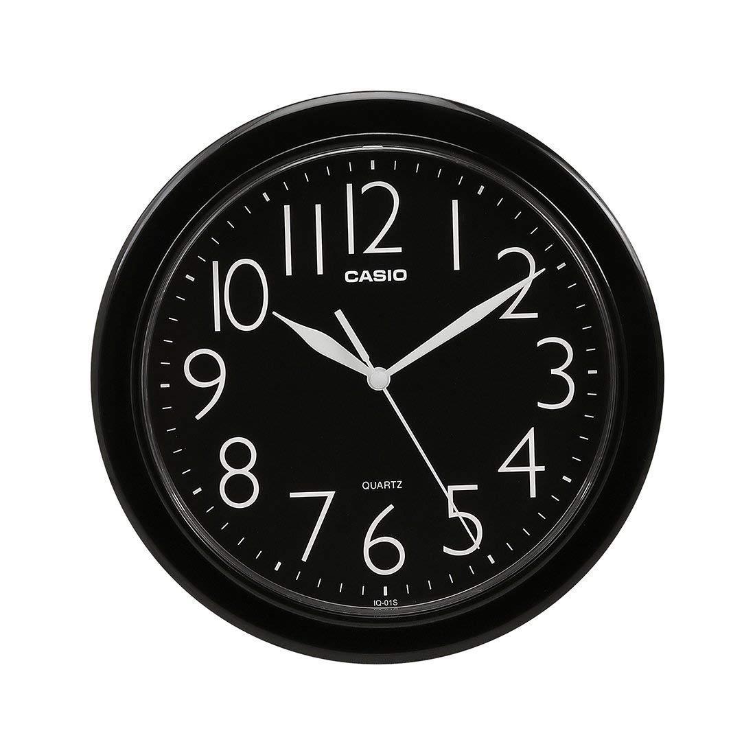 Casio 10 INCHES Analog Wall Clock IQ-01S