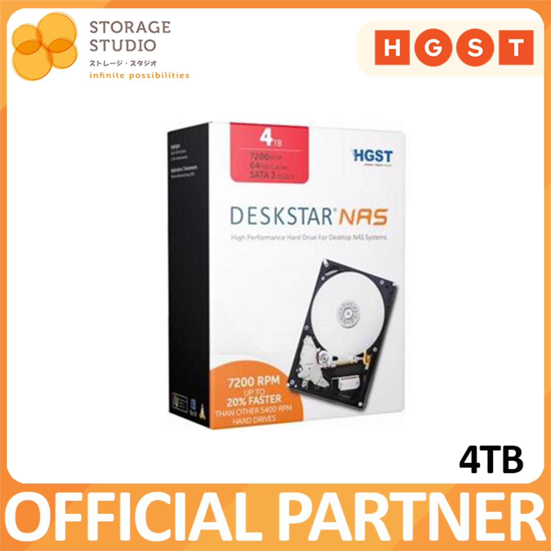 Retail Price Hgst Deskstar 4Tb Nas Hard Disk