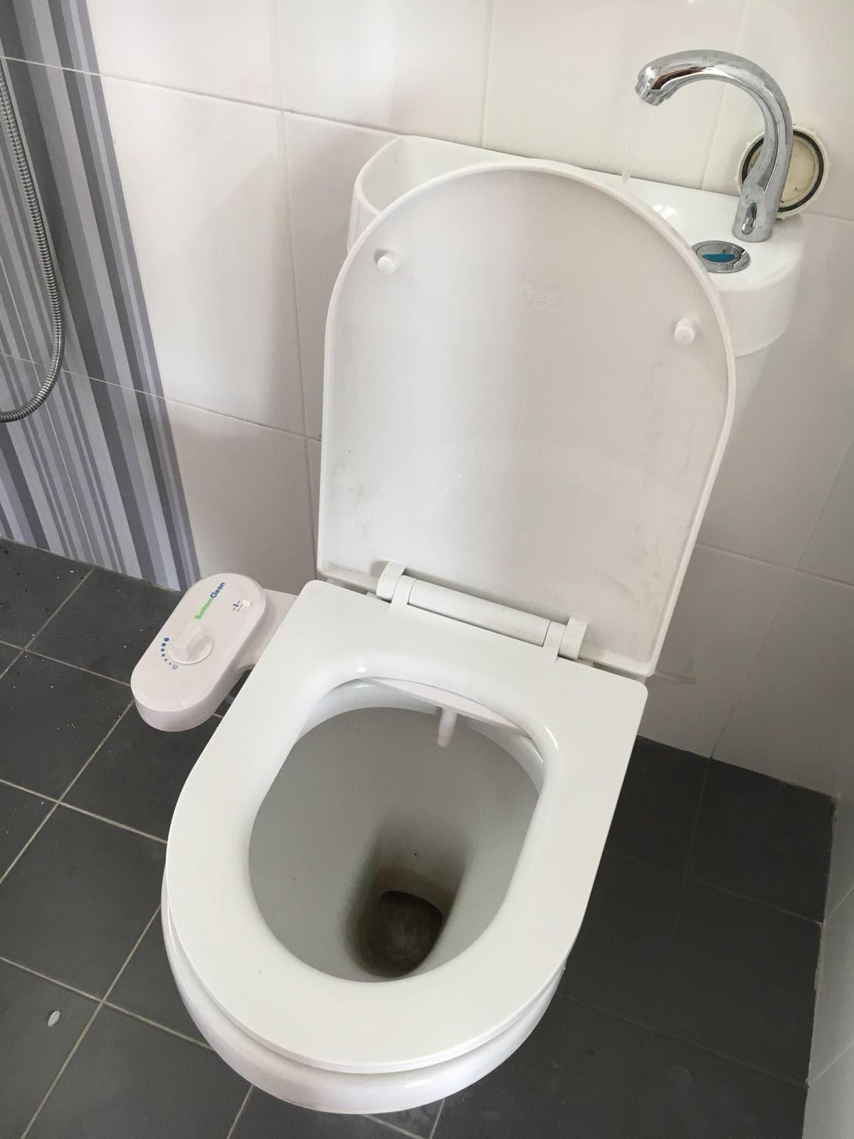 Hdb Luxury White Toilet Bidet X 1 Unit By M Living Home Furnishing.