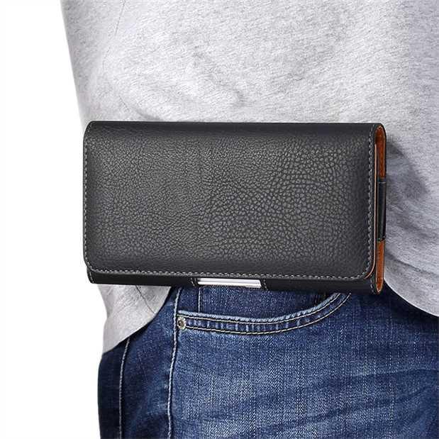Vivo nex Pouch Y71 Belt Leather Case Z1 Wallet Y85 Phone Case X23 Single Layer across Wear Belt Male