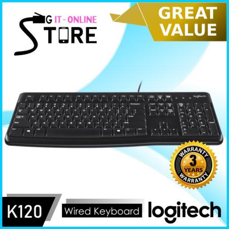 Logitech Wired Keyboard K120 Singapore