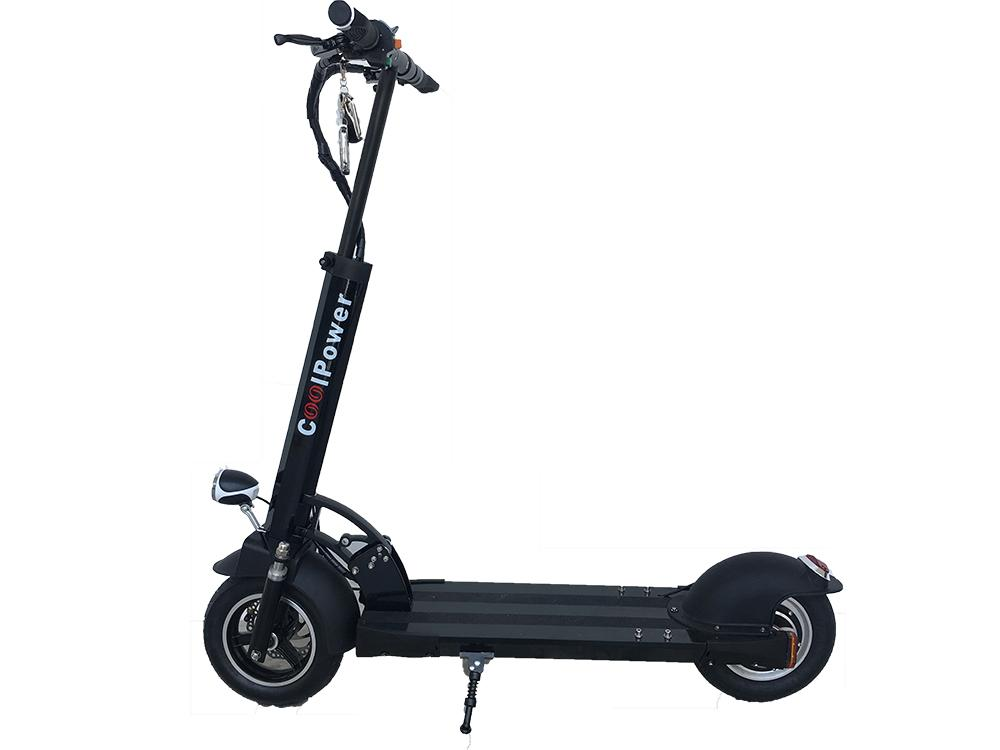 How To Get Coolpower Plus 10 Electric Scooter 48V 500W Motor Power 30Km Black