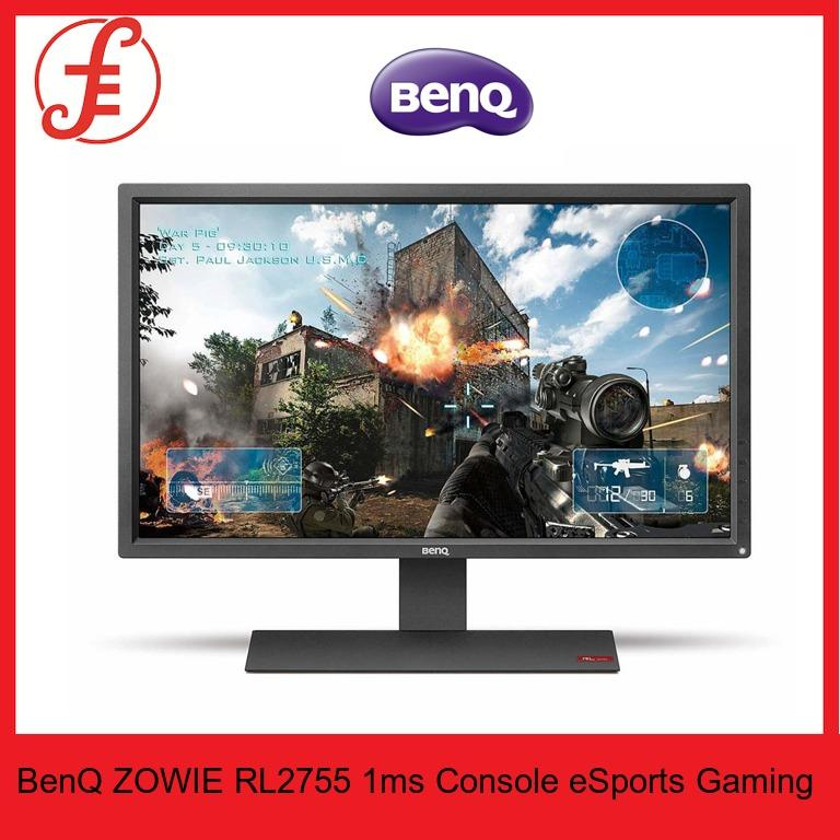 BenQ ZOWIE RL2755 27 inch 1ms Console eSports Gaming Monitor Singapore