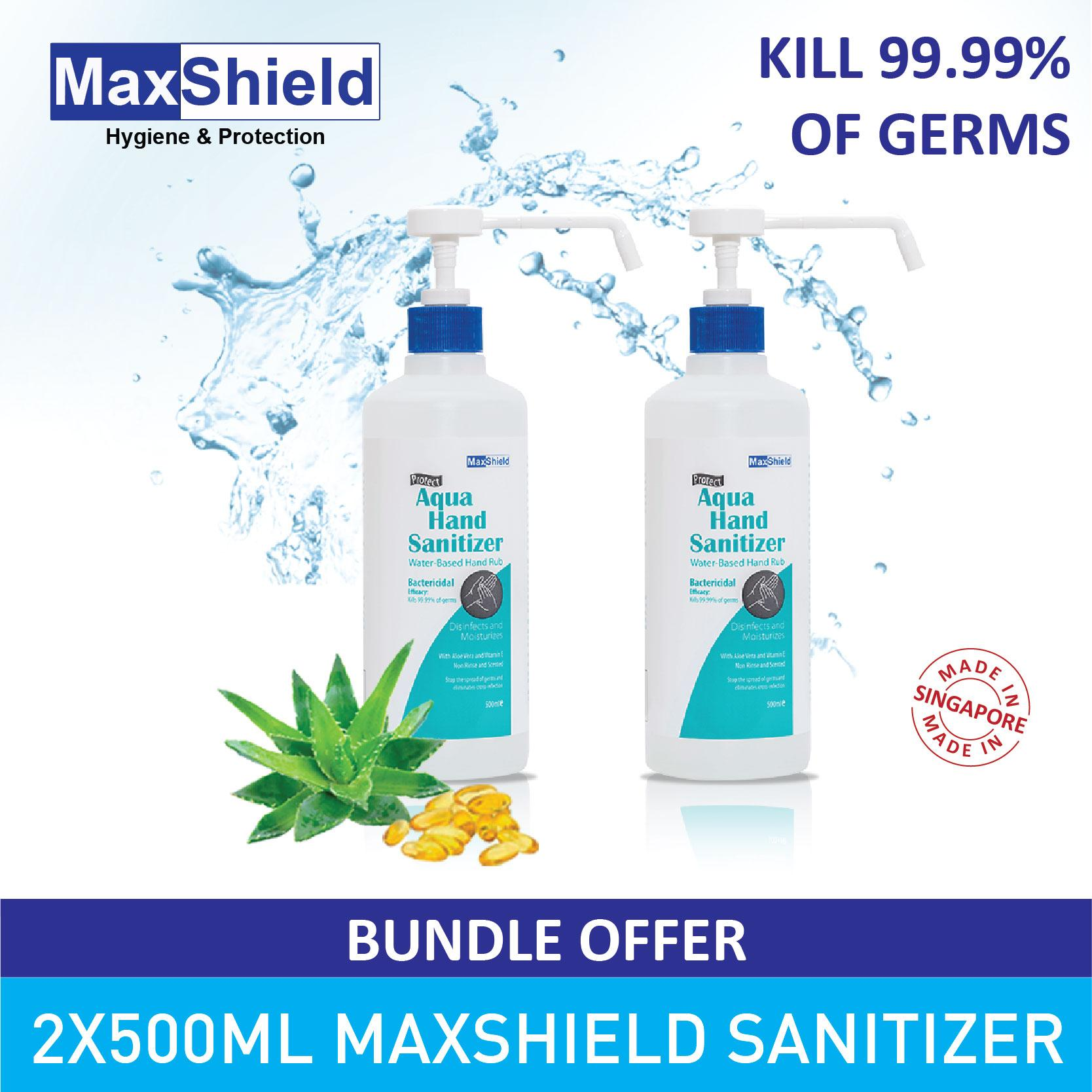 Hand Care Buy At Best Price In Singapore Dettol Wash Sensitive 200 Ml Pouch 2 Pcs Maxshield Aqua Sanitizer Alcohol Free X 500ml