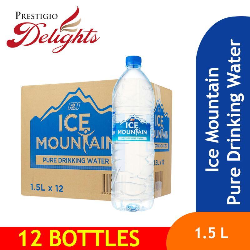 Ice Mountain Pure Drinking Water 1.5l X 12 By Prestigio Delights.