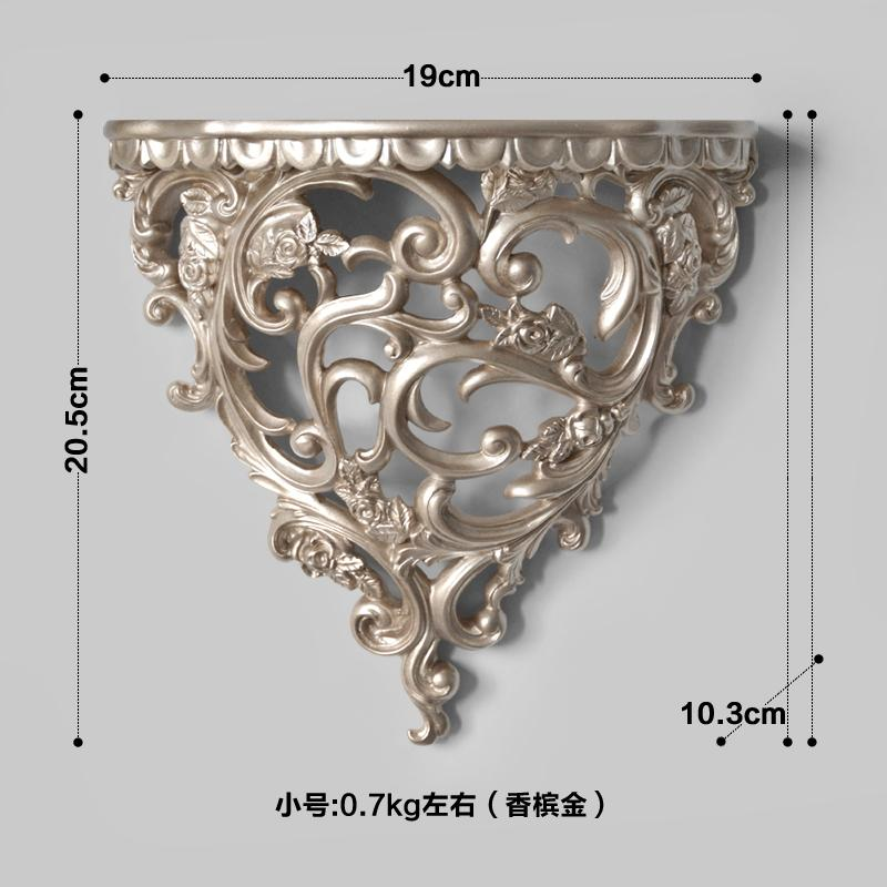 European Style Stereo Mural Decoration 58 Creative Background Wall Decorations Living Room Bedroom Wall Hangers Storage Shelf Wall Hanging Decoration
