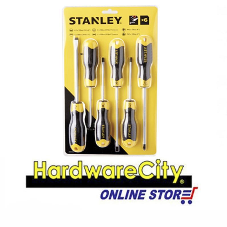 STANLEY STMT66672 Cushion Grip 6 Pcs Screwdriver Set [STMT66672]