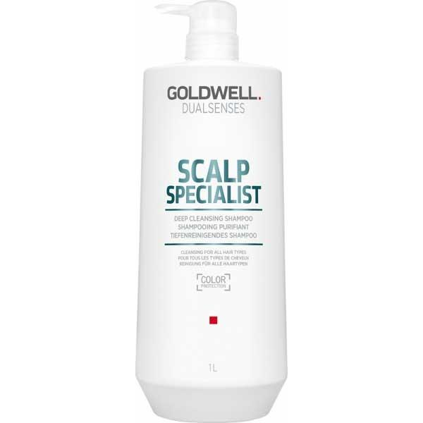 Brand New Goldwell Dualsenses Scalp Specialist Deep Cleansing Shampoo 1000Ml