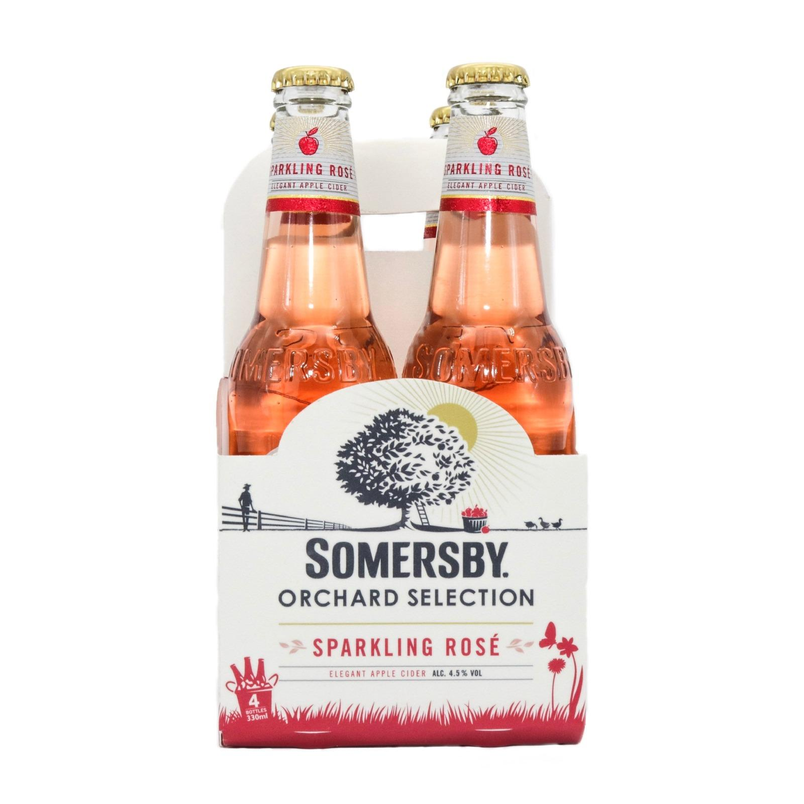 Discount Somersby Sparkling Rose Pint 4S X 330Ml Somersby Singapore