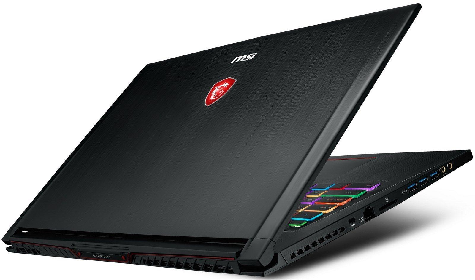 MSI GS73 STEALTH 17.3 120Hz (3ms) Core i7-8750H GTX 1070 1060 Gaming Laptop