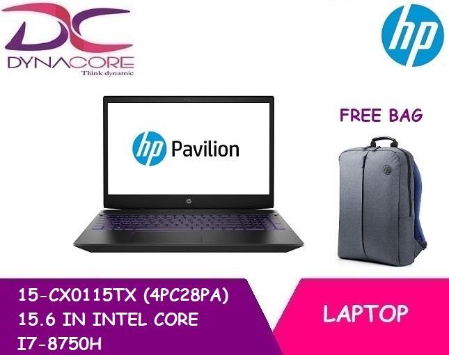 HP 15-CX0115TX (4PC28PA) 15.6 IN INTEL CORE I7-8750H 8GB 1TB 16GB OPTANE WIN 10