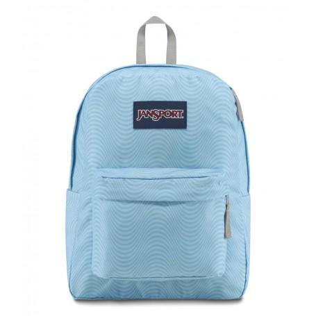 Jansport Superbreak Backpack Incoming Wave By Cashconverters.