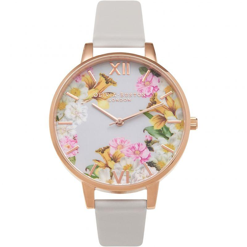 Great Deal Olivia Burton Flower Show Blush Rose Gold Watch Ob15Fs71