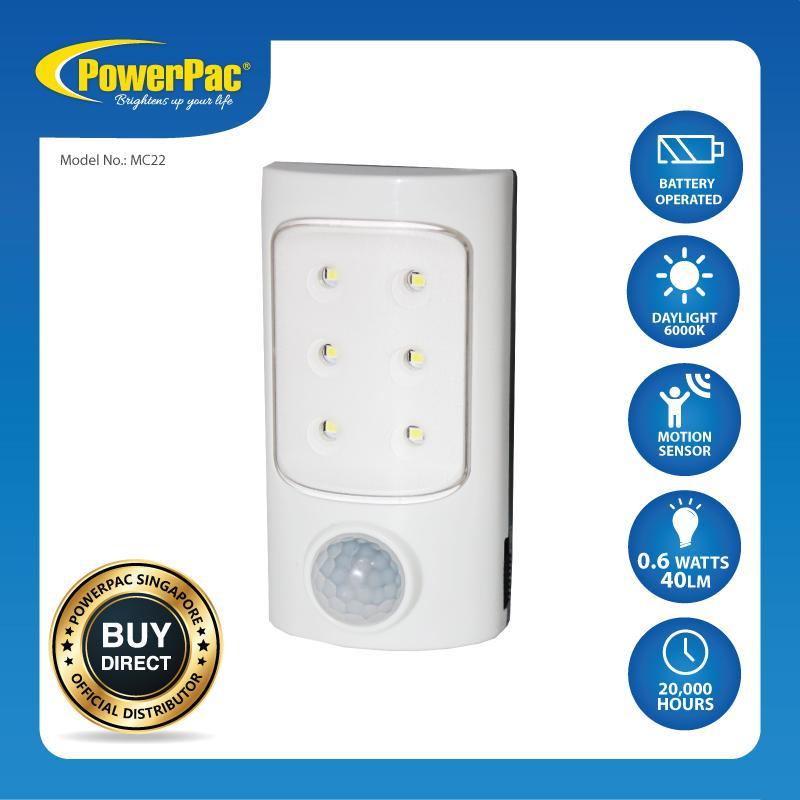 PowerPac LED Night Light  with Motion Sensor Light (MC22)