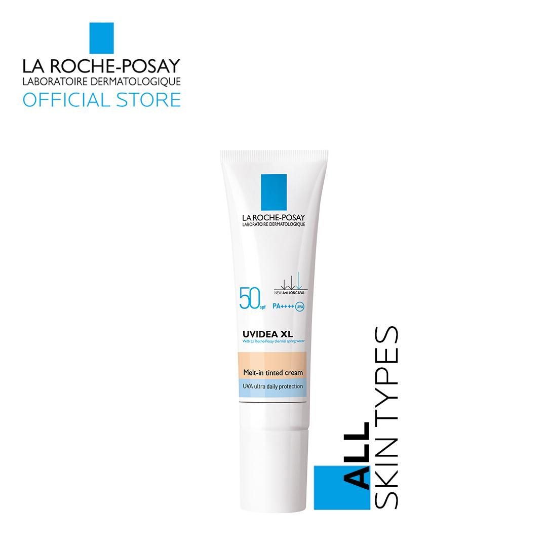 Uvidea Daily Uv Spf 50+ Cream Porcelain 30ml [all Skin Types] By La Roche-Posay By La Roche-Posay Official Store.