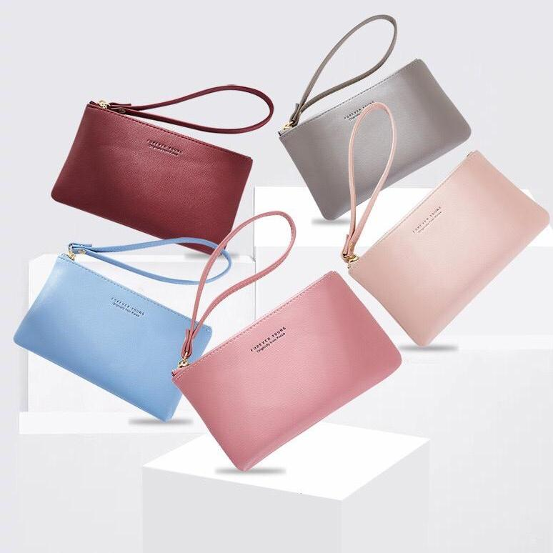 0fc8f907e49029 *LOCAL SELLER FAST DELIVERY* Women Wristlet Zipper Purse Lady Wallet Coin  Pouch Card Holder