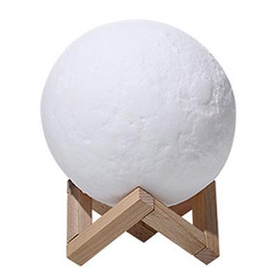 JIJI Moon Bedside Lamp 8cm - Bedside Lamp / Deco Lamp / Table Lamp / Night Light (SG)