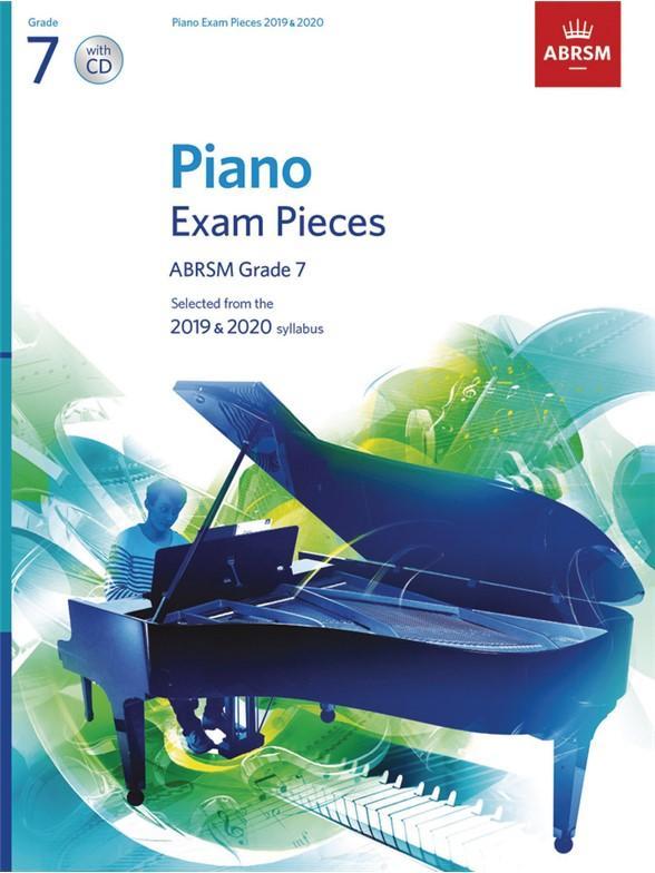 ABRSM Piano Exam Pieces 2019 2020 - Grade 7 (Book And CD)
