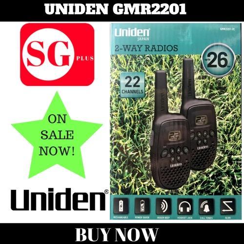 Uniden Walkie Talkie GMR2201(26km)