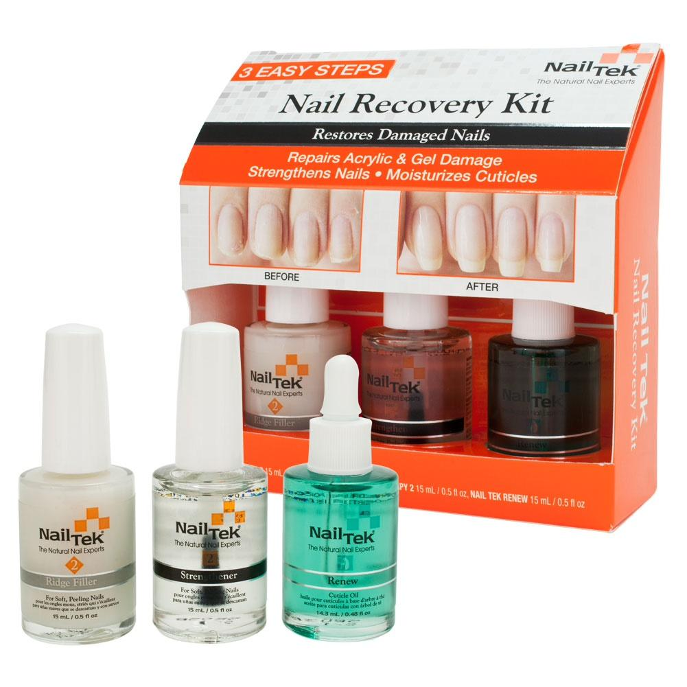 Nail Tek Nail Recovery Kit By Johnnybeautyandnails.