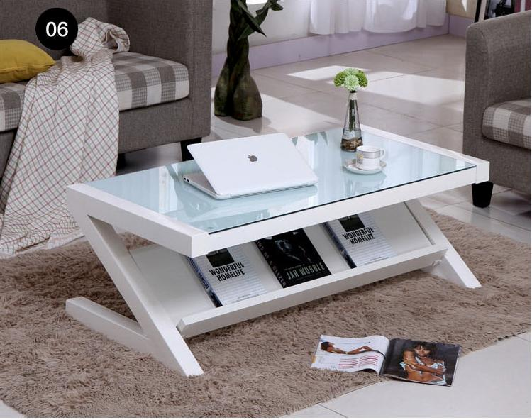 JIJI Mikaela Z-Style Coffee Table 100/120 x 50 x 40 CM (Free Installation) (Coffee Table)  Living Room Storage Coffee Table/ Furniture/ Free 12 Months Local Warranty (SG)
