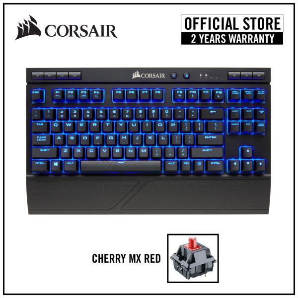 CORSAIR K63 Wireless Cherry MX Red Mechanical Gaming Keyboard - Blue LED Singapore