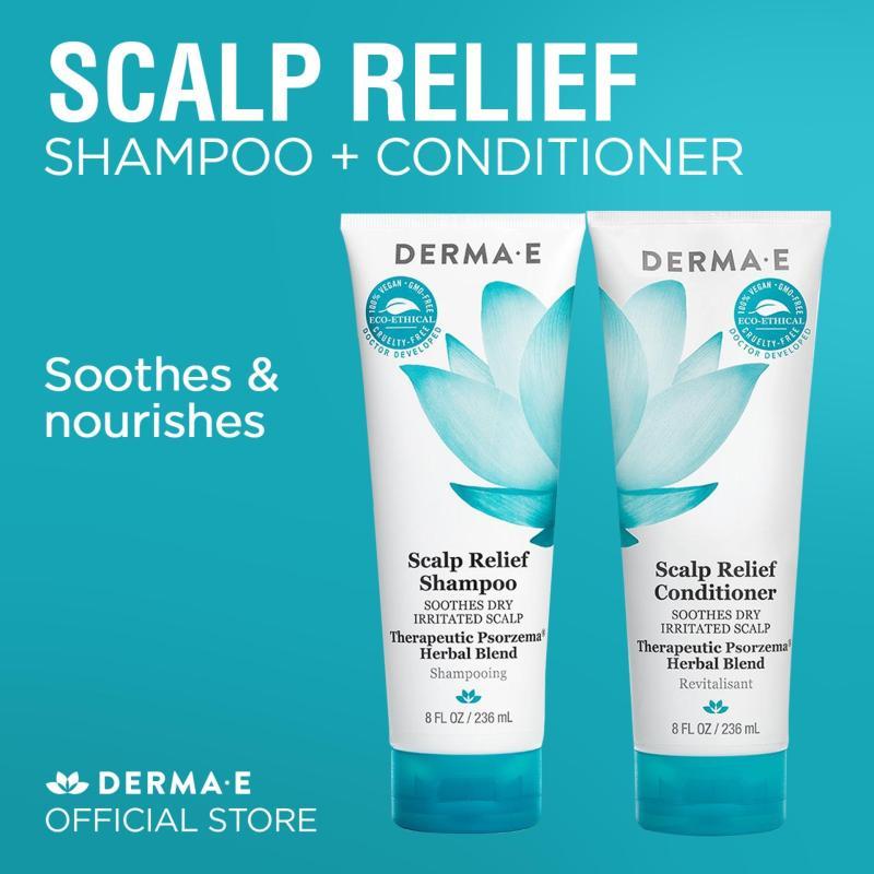 Buy Derma E Scalp Relief Shampoo + Conditioner (2 x 236ml) Singapore