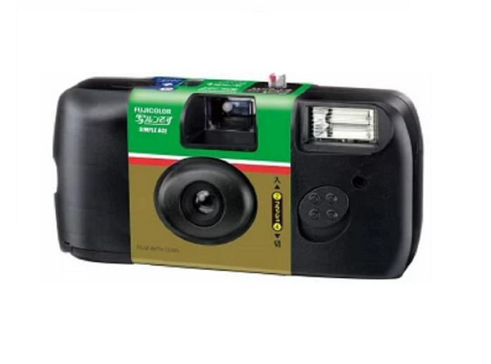 Fujifilm Simple Ace Disposable Camera 27 Flash By Akiba.
