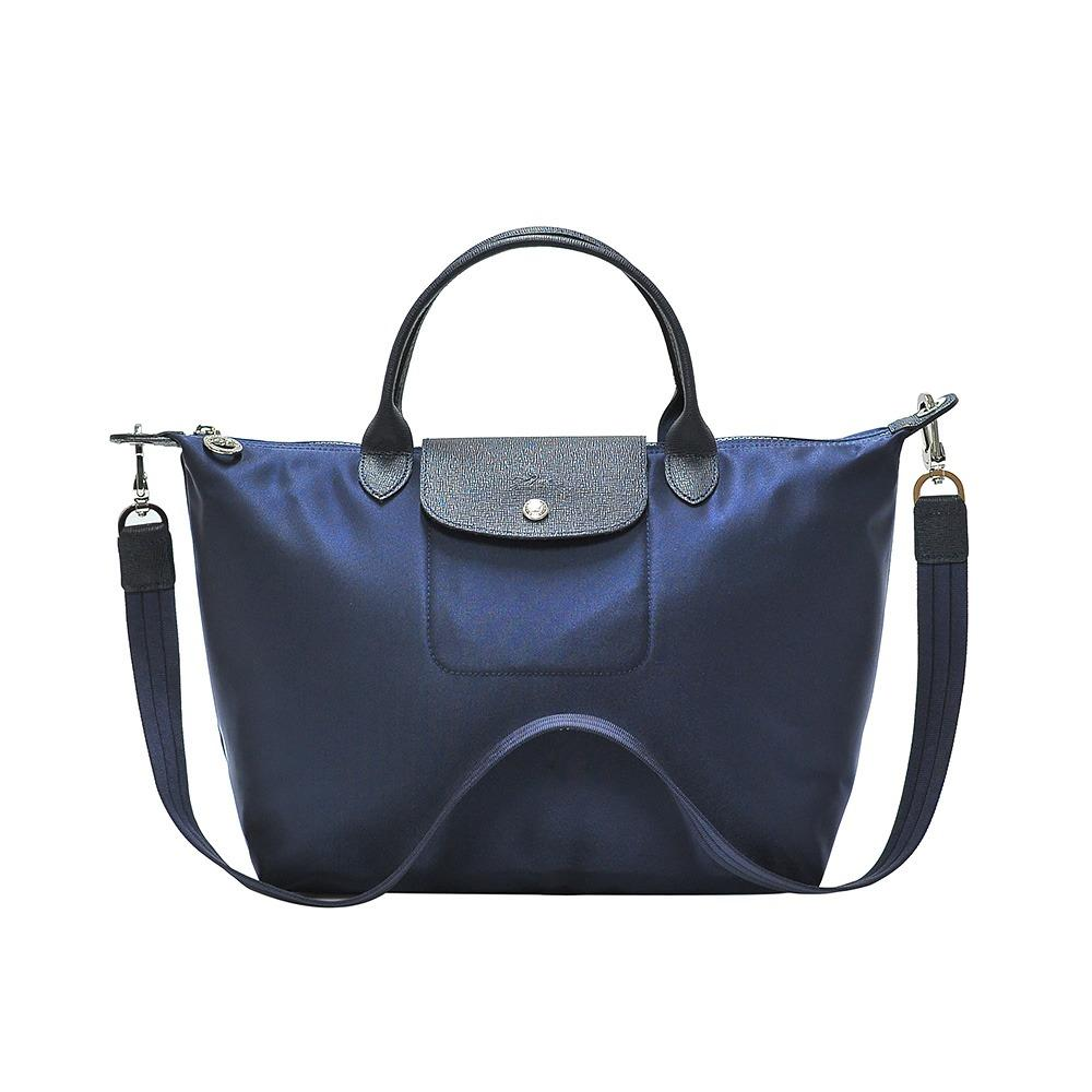 eb8936e63bd7 Singapore. Longchamp Navy Le Pliage Neo Medium Handbag (Colour Code 006)