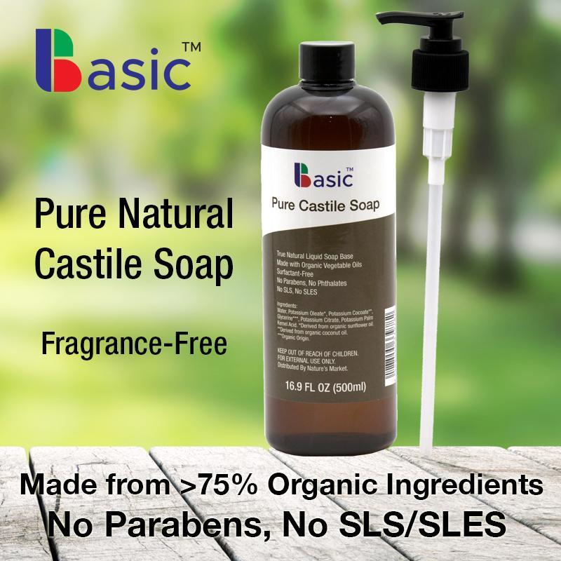 Buy Basic Pure Liquid Castile Soap Unscented Singapore