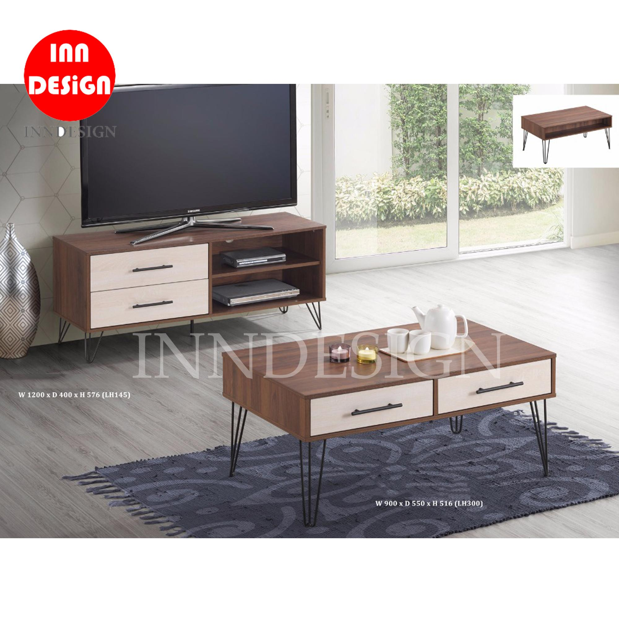 Jame 4ft TV Console + Coffee Table Combo Set
