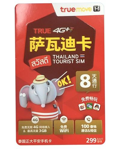 Thailand Travel Sim Card - 8 Days Unlimited Data Free Shipping By Kw.