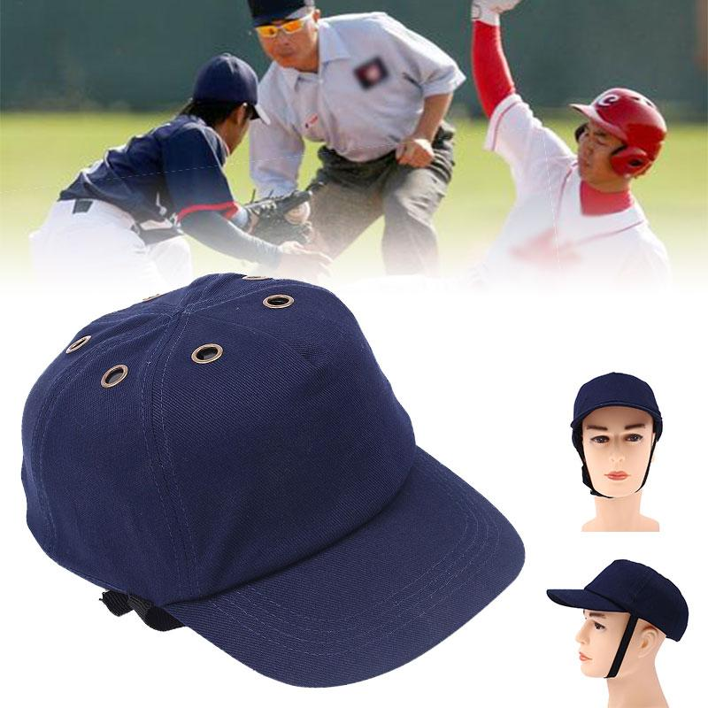 Navy Safety Anti-Smashing Work Hard Hat Bump Cap Protection Baseball Cap