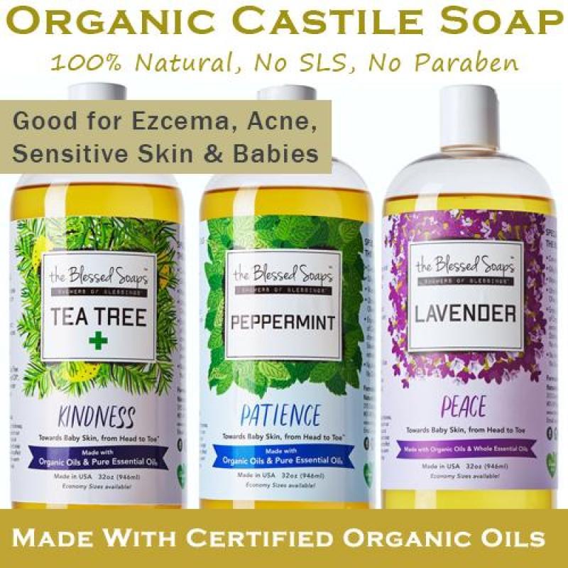 Buy The Blessed Soap - Castile Soap 12oz Singapore
