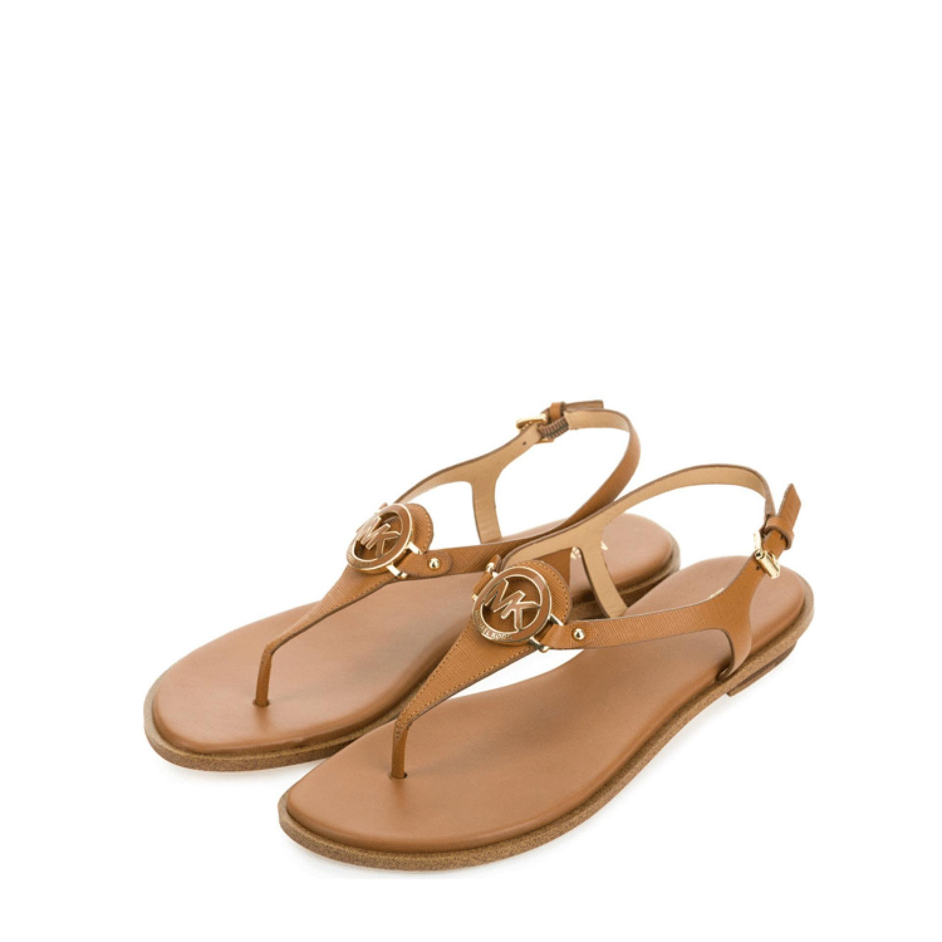 3c1520643bdd Michael Kors Lee Thong Sandals (Acorn)   40R6LEFS2LACORN